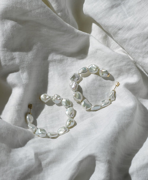 Romeo Hoop Earrings | Sterling Silver
