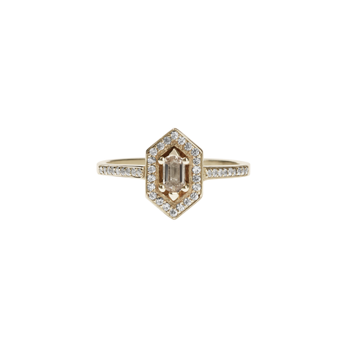 Sacred Engagement Ring | 14ct Yellow Gold
