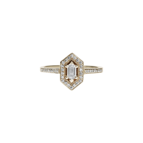 Sacred Engagement Ring | 9ct Yellow Gold
