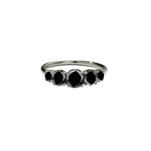 Signature 5 Stone Ring | 14ct White Gold