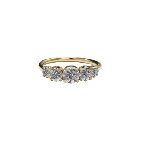 Signature 5 Stone Ring | 14ct Yellow Gold