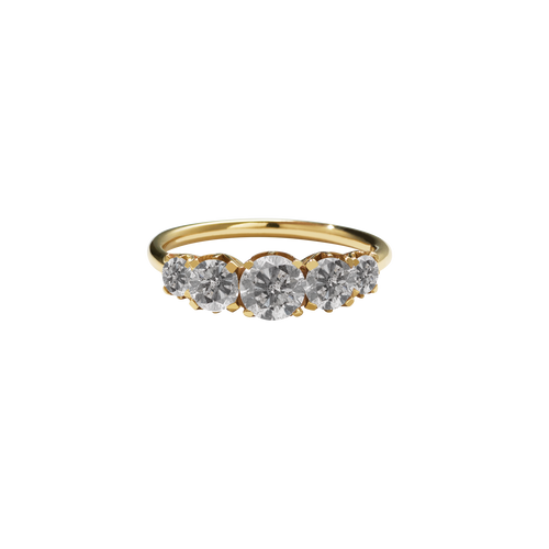 Signature 5 Stone Ring | 18ct Yellow Gold