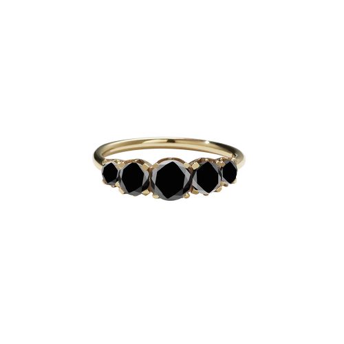 Signature 5 Stone Ring | 9ct Yellow Gold