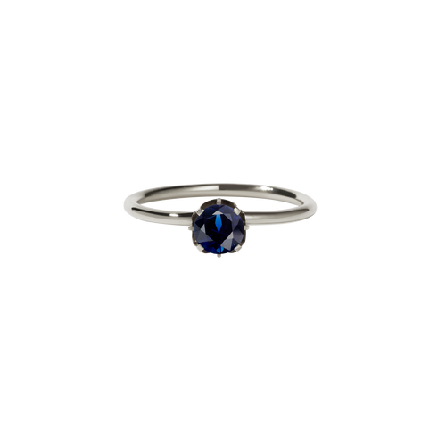 Signature Solitaire Ring | 9ct White Gold
