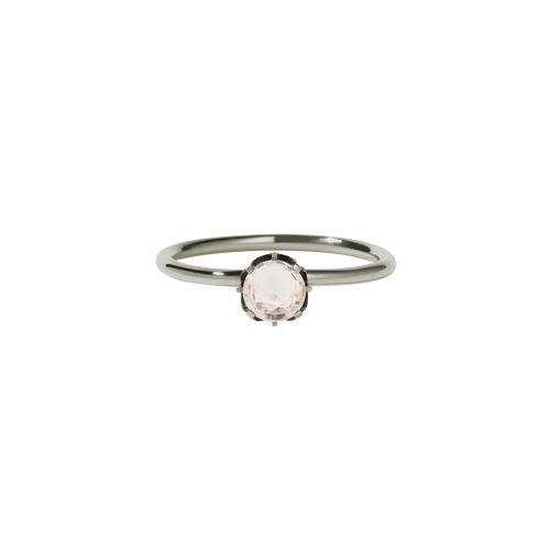 Signature Solitaire Ring | 18ct White Gold