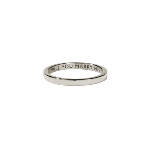 Stand In Ring | 9ct White Gold