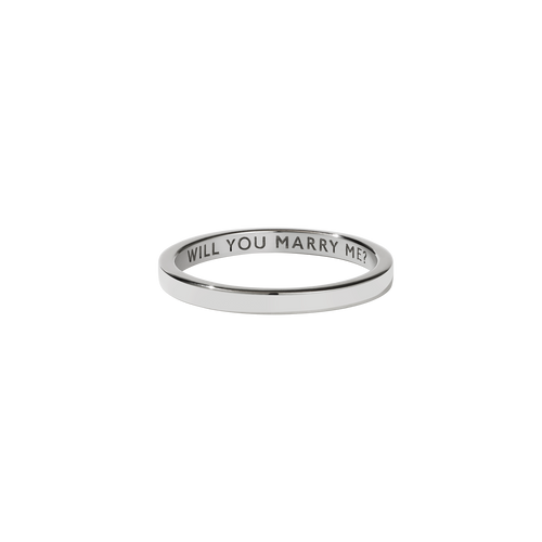 Stand In Ring | Sterling Silver