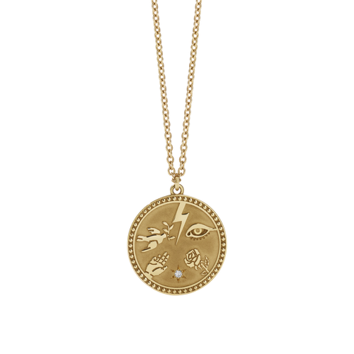 Talisman Necklace | Gold Plated