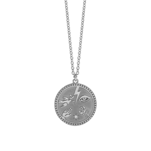 Talisman Necklace | Sterling Silver