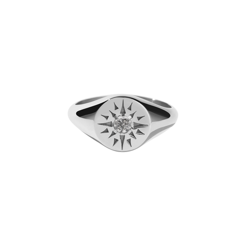 Ursa Signet Ring | Sterling Silver
