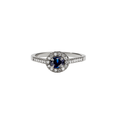 Venus Ring Petite | 18ct White Gold