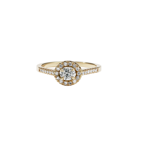 Venus Ring Petite | 9ct Yellow Gold