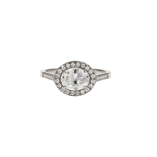 Venus Ring | 9ct White Gold