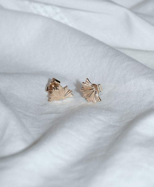 Vita Stud Earrings Small | Sterling Silver