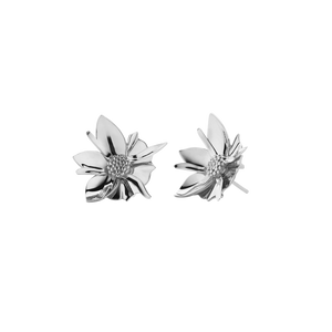 Wildflower Earrings Medium | Sterling Silver
