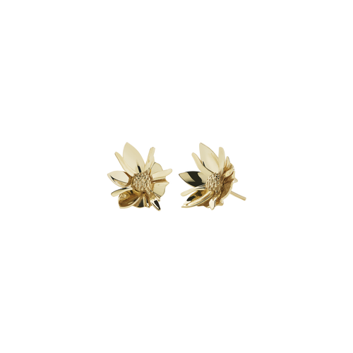 Wildflower Earrings Small | 9ct Yellow Gold