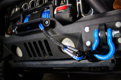 "3/8"" X 80' Synthetic Winch Rope Main Line on a Jeep JK"