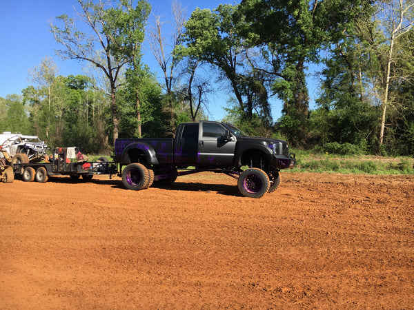 Lifted Tow Rig