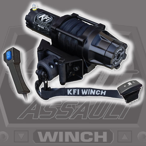 KFI Assault Series 5000 LB Winch