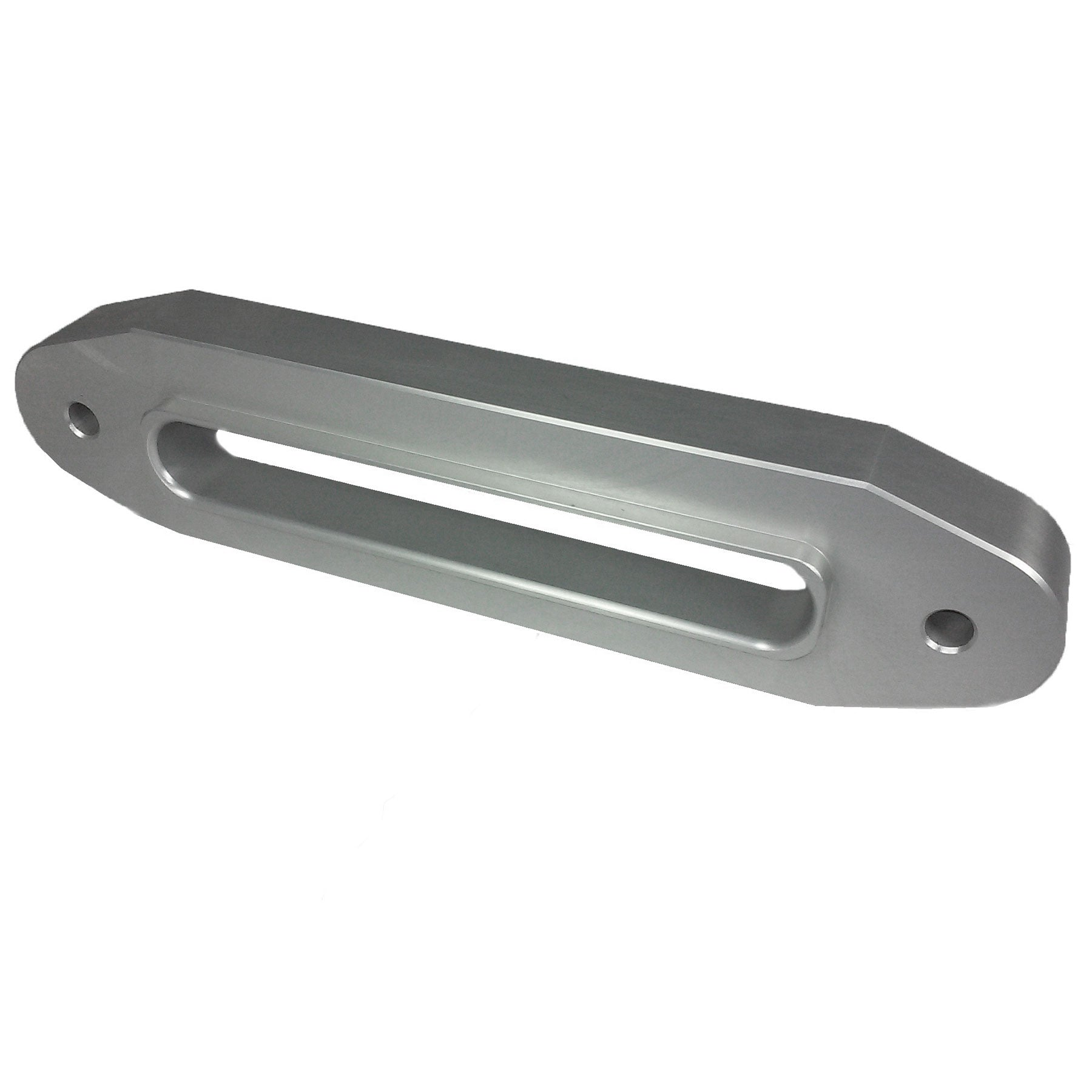 "Silver 10"" Double Thick  Fairlead with Large Inside Radii and Liner."