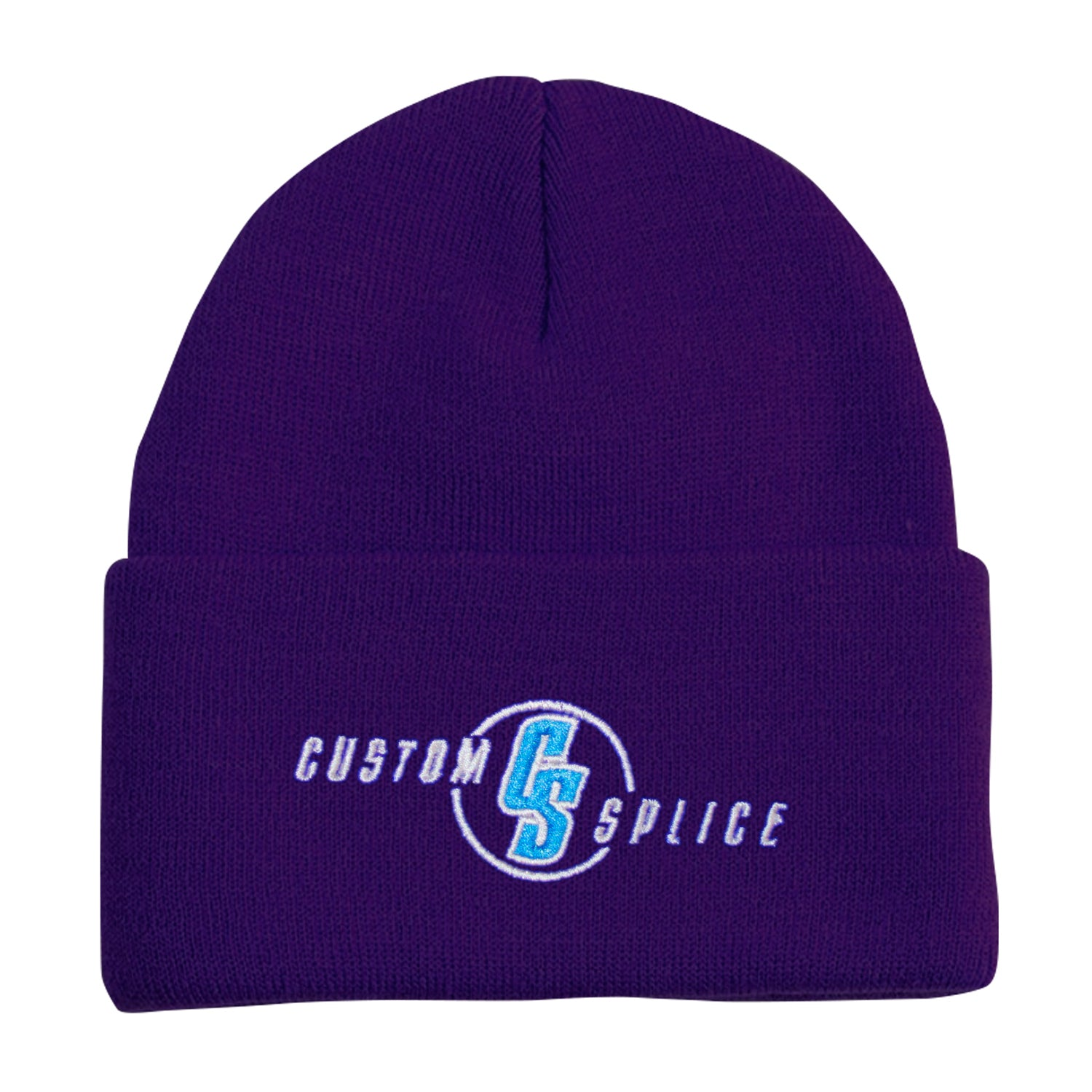 Custom Splice Embroidered Beanie
