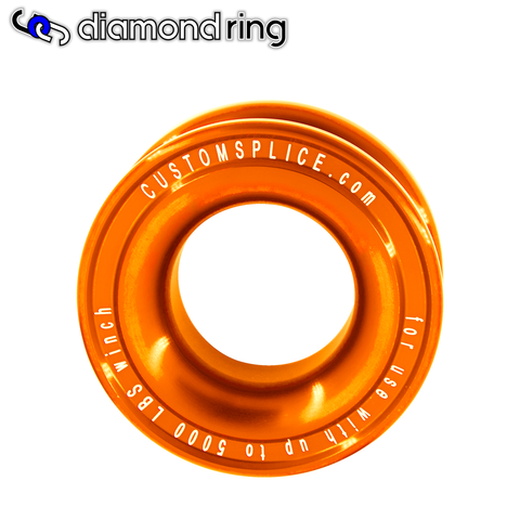 Diamond Recovery Ring - Soft Shackle Pulley