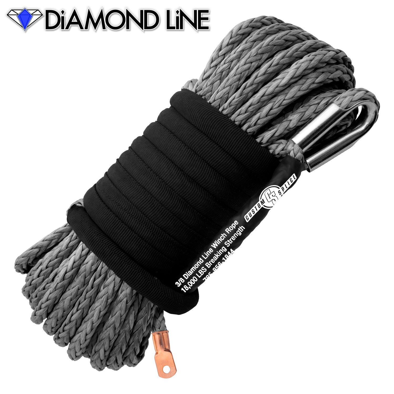 "3/8"" Main Line Winch Rope - Diamond Line"