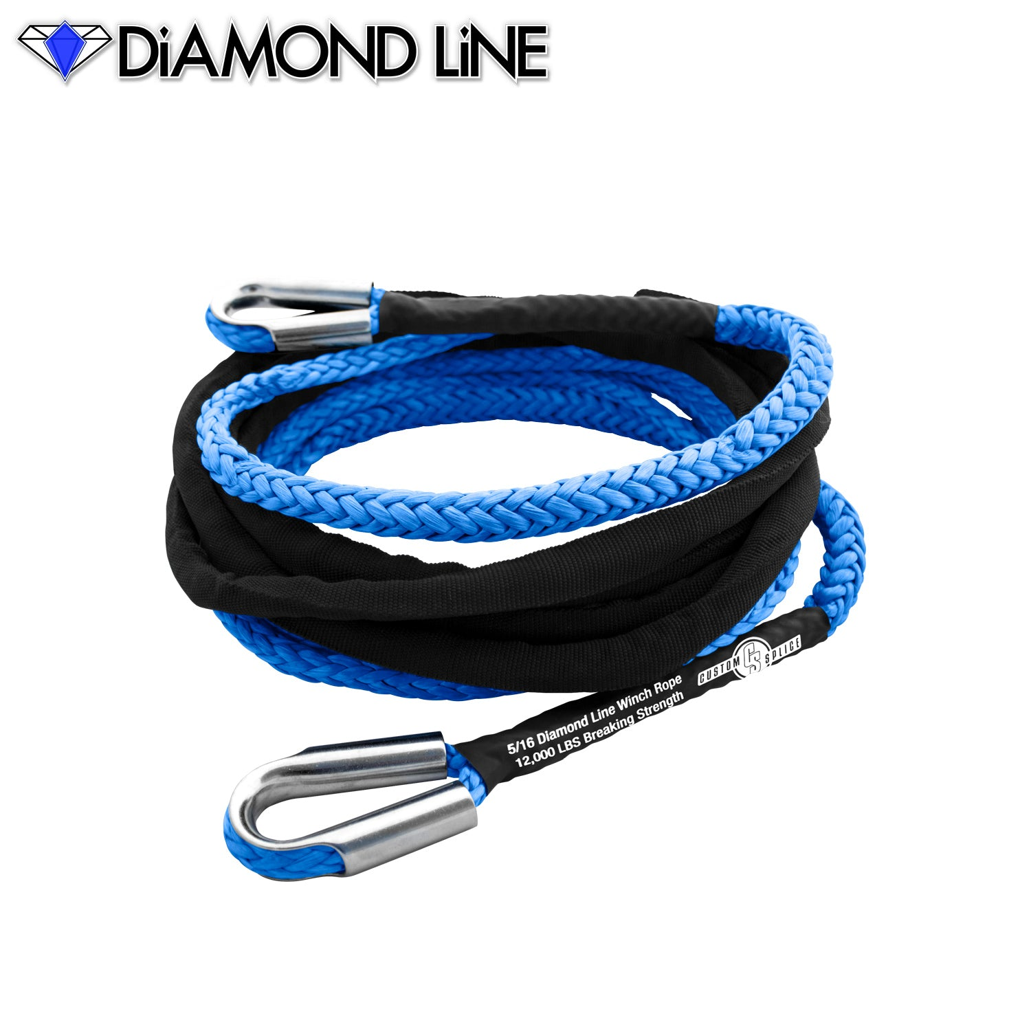 "5/16"" Extension - Diamond Line Winch Rope"