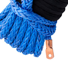 "5/16"" Diamond Line Winch Rope Mainline - Crimped End for Winch Attachment."