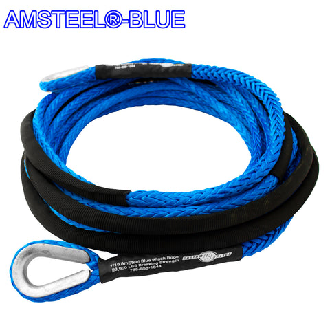 "1/2"" Extension - AmSteel Blue Winch Rope"