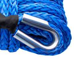 "7/16"" Diamond Line Winch Rope Mainline - Tube Thimble."