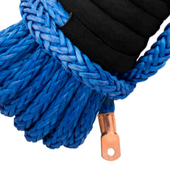 "7/16"" Diamond Line Winch Rope Mainline - Crimped End for Winch Attachment."