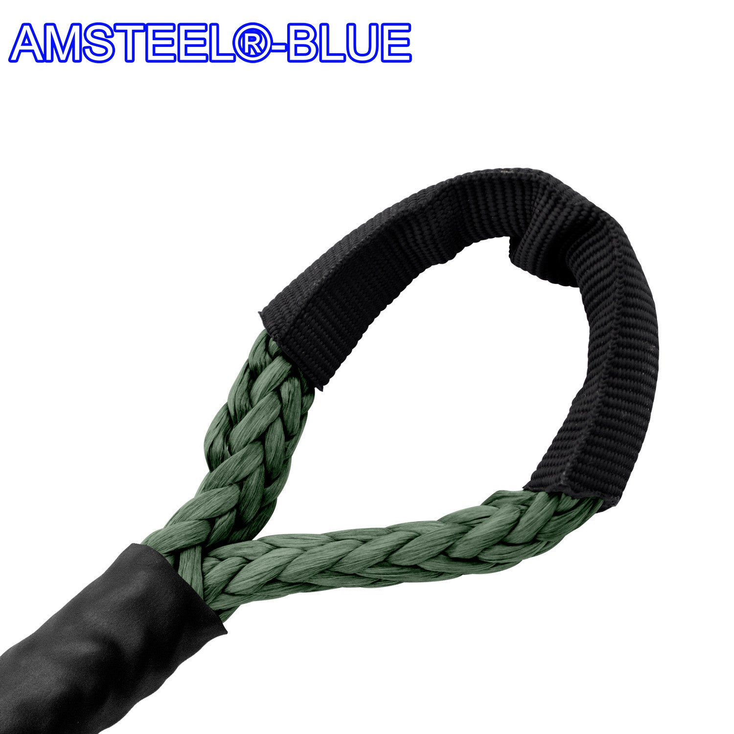 "1/4"" X 55' Main Line Winch Rope - AmSteel Blue"