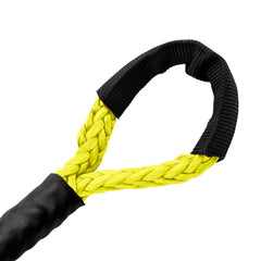 "3/16"" Diamond Line Winch Rope Soft Eye - Yellow."