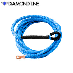 ATV UTV Snow Plow Lift Synthetic Winch Rope - Diamond Line