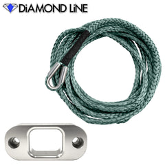 "*CUSTOM* 3/16"" X 20' - Custom Splice PullzAll Synthetic Winch Rope Conversion Kit"