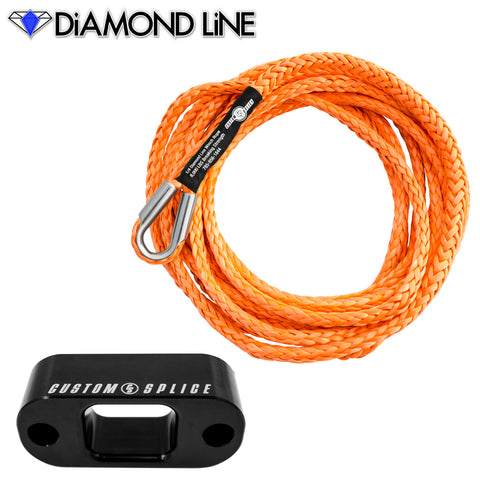 Custom Splice PullzAll Synthetic Winch Rope Conversion Kit