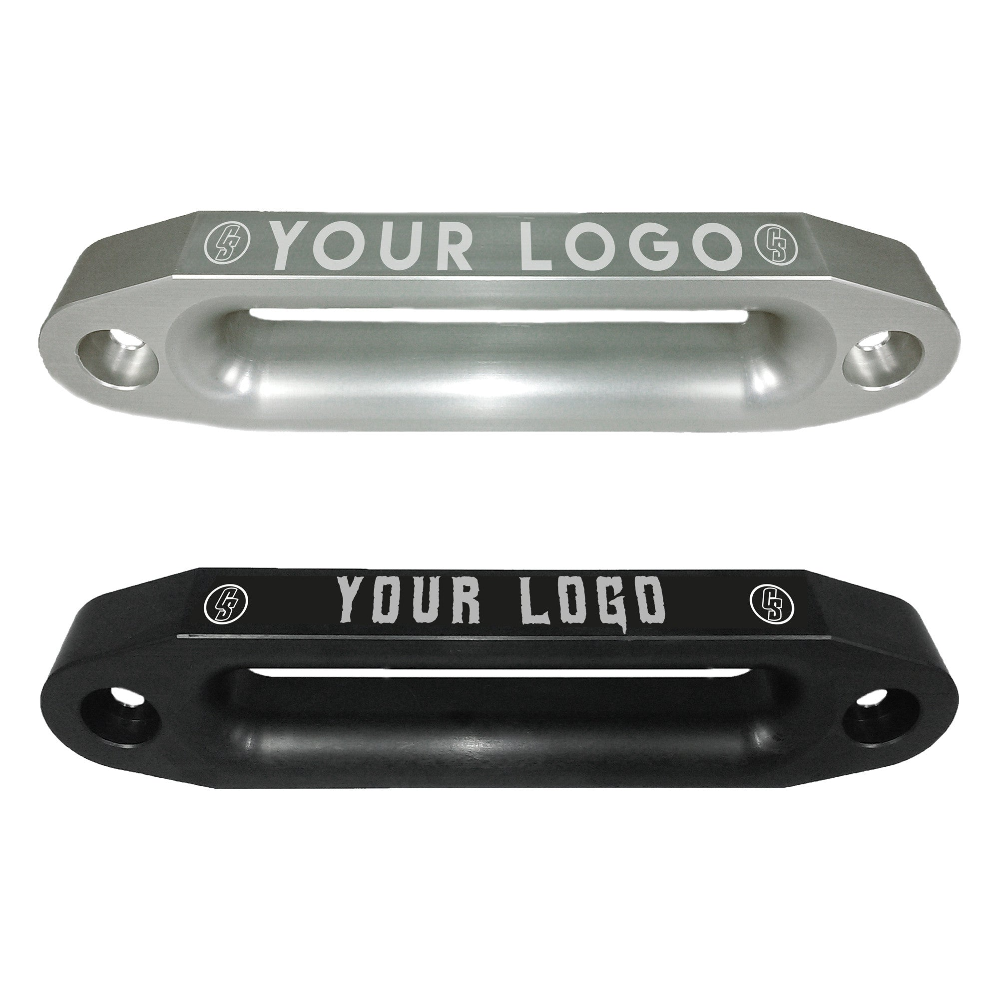 "Customized 10"" Double Thick Radius Fairlead"