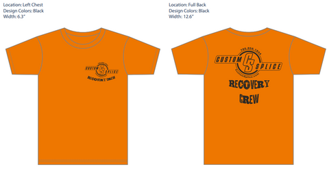 Recovery Crew Shirt  - Pre Order - Expected to ship 8-7-19