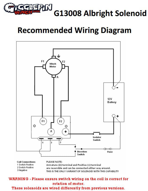 Warn Winch Solenoid Wiring Diagram For on
