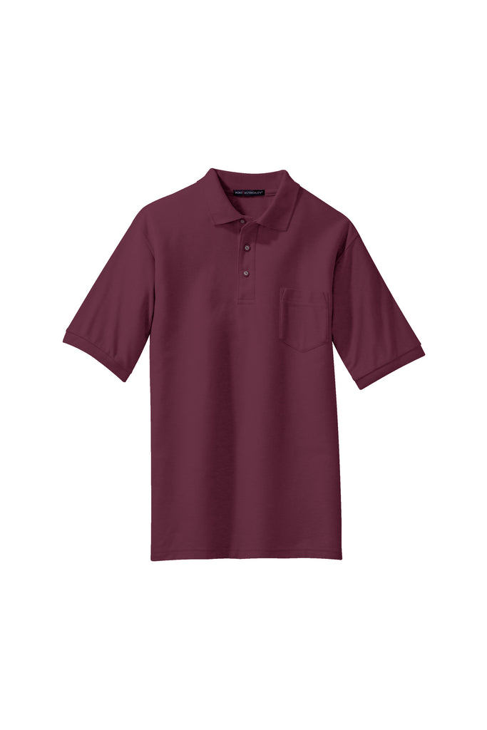 afdb907a Port Authority Silk Touch Polo with Pocket LIGHT COLORS - GREEQ – Pink Ink  Screen Printing