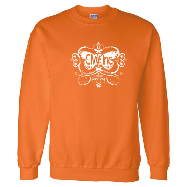 CME - Heart Design - Crewneck Sweatshirt - COMAE-13025