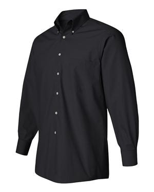 Button-up Long Sleeve Silky Poplin - VanHeusen - FMH-11032E