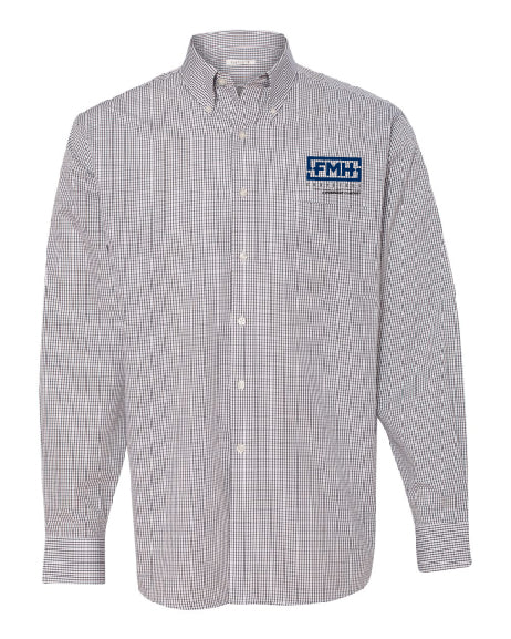 Button-up Long Sleeve Coolest Comfort Check - Women's - Van Heusen - FMH-11032E