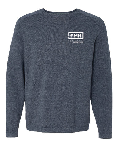 Vintage Crewneck Cotton Sweater - Weatherproof - FMH-11032E
