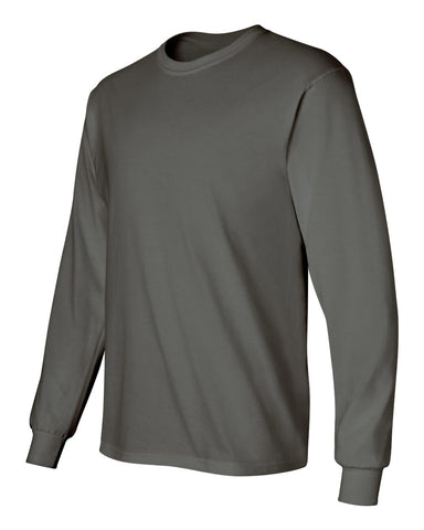 Gildan Long Sleeve - CHARCOAL - NEMES-12431