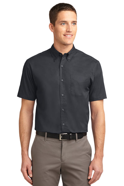 Port Authority Short Sleeve Easy Care Shirt DARK COLORS - GREEQ