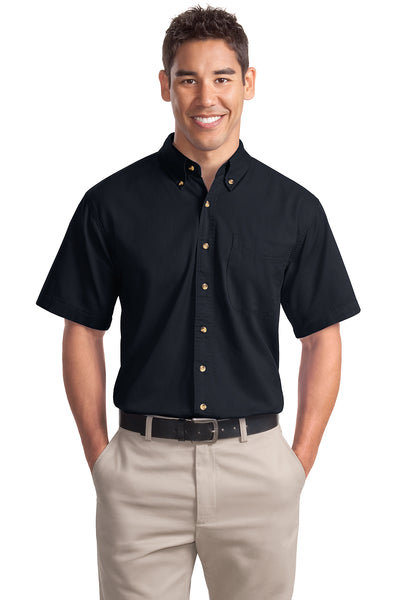 Port Authority Short Sleeve Twill Shirt - GREEQ