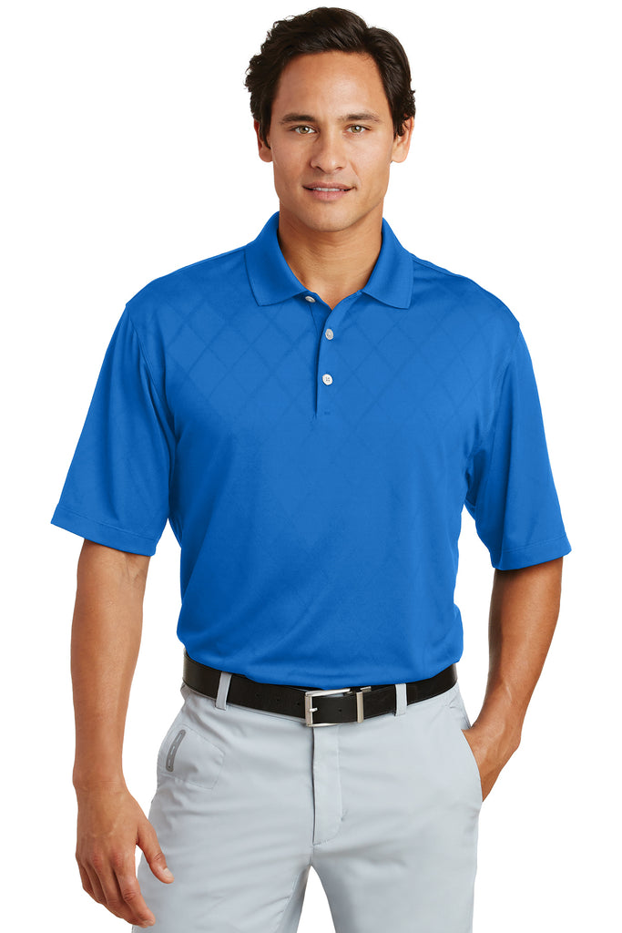Nike Dri-FIT Cross-Over Texture Polo - GREEQ