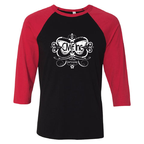 CME - Heart Design - Raglan Baseball - COMAE-13025